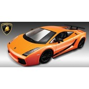 1/24 Academy XD Lamborghini Gallardo LP 570-4 Superleggera Die Cast Model Car Plastic Model Kit (Painted body)