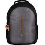 AesA Trendy Orange Line Grey Backpack|Laptop Bag for Women and Men | Backpacks for Girls Boys|Stylish Backpack| Trending Backpack | School Bag | Bag for Boys Kids Girl | 15 Inch Laptop Bag | Waterproof Backpack(Grey, 20 L)