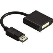 Deltaco DisplayPort till DVI-adapter