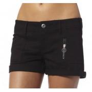 pantaloni scurți femei -pantaloni scurti- VULPE - 4 Grevă - NEGRU