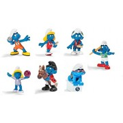Schleich Olympic Smurf Collection Figures Set of 7