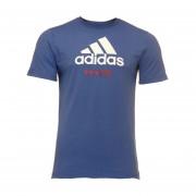 Camiseta BOX AZUL/BL