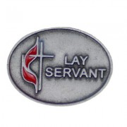 UM Lay Servant Lapel Pin