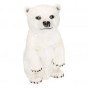 Geen IJsbeer beeldje wit type 1 19 cm
