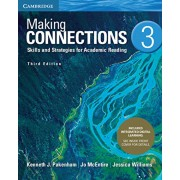 Making Connections Level 3 Student's Book with Integrated Digital Learning: Skills and Strategies for Academic Reading, Hardcover/Kenneth J. Pakenham