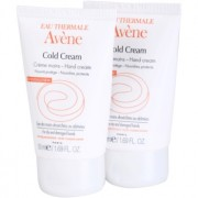Avène Cold Cream crema de manos para pieles secas y muy secas 2x50 ml