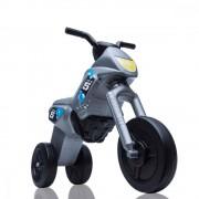 Tricicleta fara pedale Enduro Maxi gri-negru