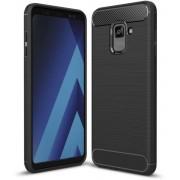 Husa silicon carbon Samsung Galaxy A8 2018