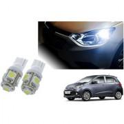 Auto Addict Car T10 5 SMD Headlight LED Bulb for Headlights Parking Light Number Plate Light Indicator Light For Hyundai Grand i10