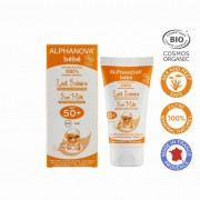 Alphanova Vegan Bebe Hypo allergeen Sun Milk (SPF 50 - 50 gram)