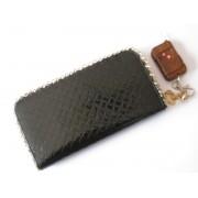 Portofel/borseta negru cu camera spion Telecomanda si memorie 4 GB