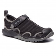 Crocs Sandały CROCS - Swiftwater Mesh Deck Sandal M 205289 Black