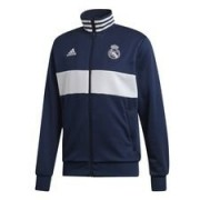 Real Madrid Track Top 3S - Navy/Wit