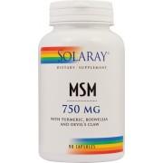 MSM 750 mg x 90 capsule Solaray Secom