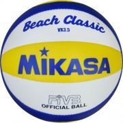 mikasa Beachvolleyball VX 3,5-mini - blau/gelb/weiß | 1