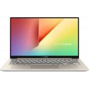 "Ultrabook Asus VivoBook S330UA-EY042T (Procesor Intel® Core™ i7-8550U (8M Cache, up to 4.00 GHz), 13.3"" FHD, 8GB, 256GB SSD, Intel® UHD 620, FPR, Win10 Home, Auriu)"