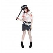 Disfraz Mujer Policia Zombie Halloween - Car&Gus