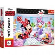 Puzzle clasic copii - Minnie Mouse si Daisy cele mai bune prietene 160 piese