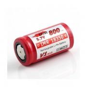Acumulator Mini Lavatube Efest IMR 18350 800mAh 3.7V flat top