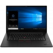Laptop Lenovo ThinkPad X1 Extreme Gen 2 15.6 inch UHD Intel Core i7-9750H 32GB DDR4 1TB SSD nVidia GeForce GTX 1650 4GB Windows 10 Pro Black