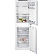 Siemens KI85NAD30G Static Integrated Fridge Freezer - White