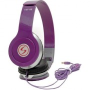 Signature Brand High Quality VM-46 Stereo Bass Solo Headphones Violet