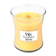 WoodWick Lumânare parfumată Honeysuckle 275 g