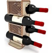 Suport sticle vin Lemn 40x13 cm