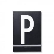 Personal Notizbuch P Design Letters