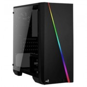 AeroCool Obudowa Cylon Mini Czarna Glass USB3.0