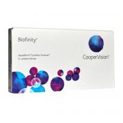 CooperVision Biofinity (Comfilcon) -4.25 mensuelles 6 lentilles de contact CooperVision -4.25 Comfilcon A I 5 (Silicone Hydrogel)
