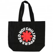 Geantă Red Hot Chili Peppers - Asterisk Logo - Black Shopper - RTRHCTOBAST