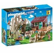 Refugio De Escaladores Playmobil Rescate En Altura - 9126