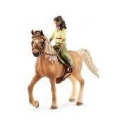 Schleich Figurine horse club sarah et mystery