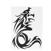 Dragon Tattoo Sticker Waterproof Temporary Tattooing Paper Body Art Temporary Tattoos 26.5 19.3cm