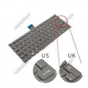 Tastatura Laptop Acer Aspire S5-391 Gri layout UK