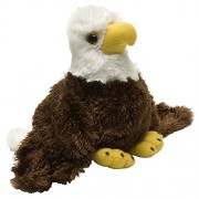 Wild Republic Ems Hug Bald Eagle Plush Toy