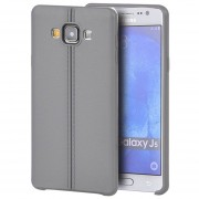 Funda Case para Samsung Galaxy J5 de Plastico tipo TPU Flexible -Gris