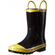 Northside Unisex Classic Rain Boot, Black, 13 Medium US Little Kid