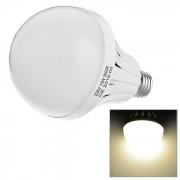 E27 8.6W LED globo bombilla lampara luz blanca calida 600lm 52-SMD - blanco