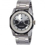 Fastrack Round Analog Watch For Men-3099SM02