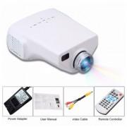 Videoproiector LED E03 cu Telecomanda conexiune USB, HDMI, VGA