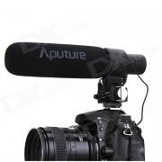 Aputure V-Mic D2 Sensibilidad Ajustable Dirigencial Condensador Shotgun Microphone
