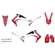 Blackbird kit adesivi Linear Honda Crf r 250 2014 - 2017 Honda Crf r 450 2013 -