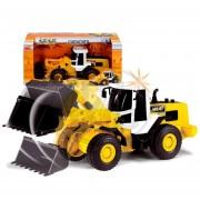 Maquina de construccion retro excavadora Dickie Toys