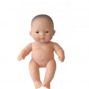 Papusa Bebelus asiatic fetita 21 cm