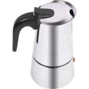 Brecken Paul 320 ml Cups 4 Cups Coffee Maker(Steel)