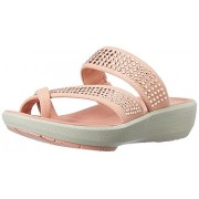 Clarks Women's Wave Bright Red Fashion Sandals - 4 UK/India (37 EU)