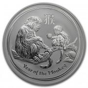 The Perth Mint Lunární série II. stříbrná mince 1 AUD Year of the Monkey Rok opice 1 Oz 2016