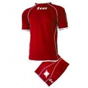 Echipament fotbal Kit Shox Zeus, Rosu/Alb, XS